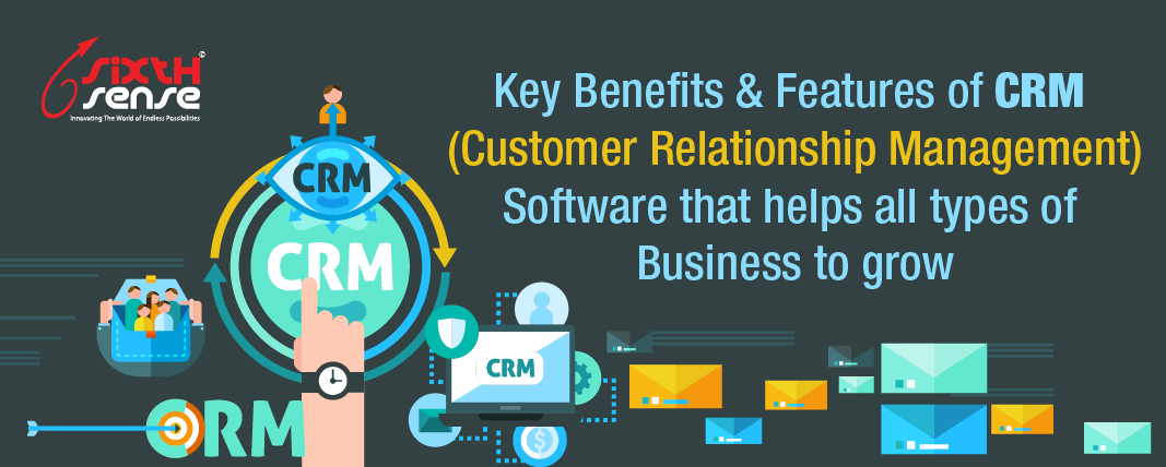CRM Sense Benefits & Features